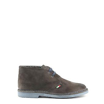 Made in Italia Original Men Fall/Winter Lace Up - Grey Color 28791