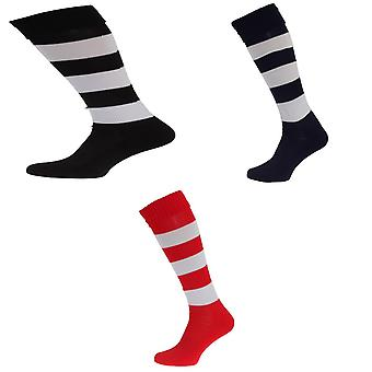 Apto Mens Hooped Football Socks