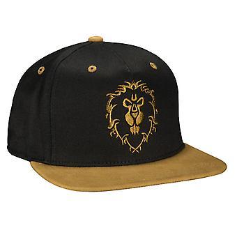 World of Warcraft Legendary Alliance Premium Snap Back Hat Cap One Size
