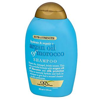 Ogx hydrate + repair argan oil of morocco extra strength shampoo, 13 oz