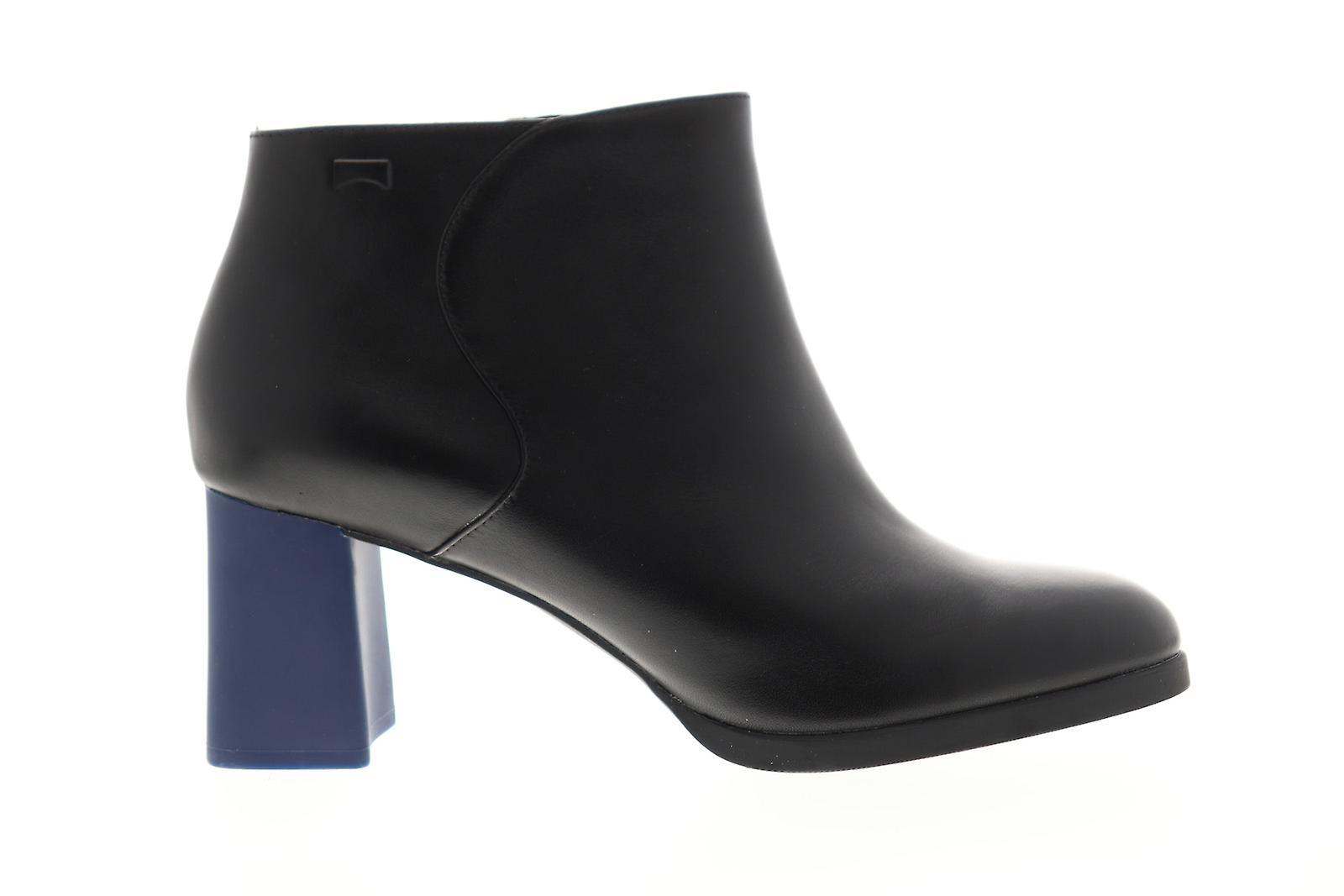 Camper Kara kvinner svart skinn glidelås pumper hæler sko