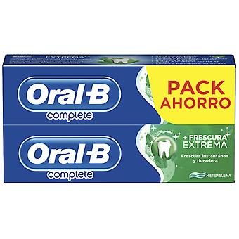 Oral B Complete Plus Total Freshness Toothpaste 2x75 ml