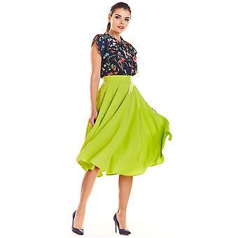 Lime unendlich Sie Röcke
