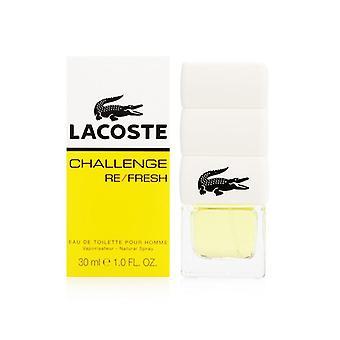 Lacoste utfordring oppdatering av lacoste for menn 1,0 oz eau de toilette spray
