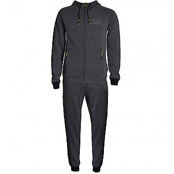 EA7 Men's Dark Grey Tracksuit