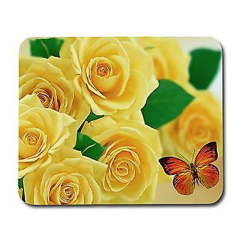 Sárga rózsák egérpad