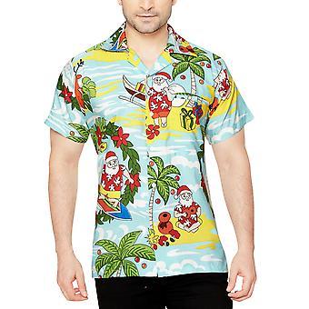 Club cubana men's regular fit classic short sleeve casual shirt ccx35