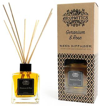 Geranium & Rose Essential Oil Reed Diffuser 200ml