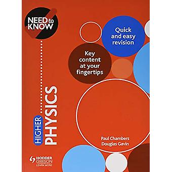 Bisogno di sapere - Fisica superiore di Douglas Gavin - 9781510451193 Libro