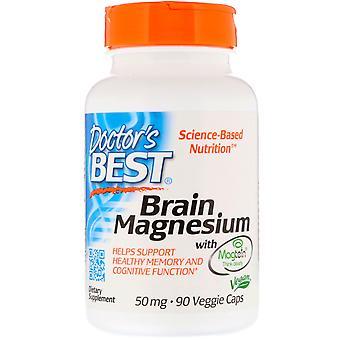 Gehirn Magnesium mit Magtein 50 mg (90 vegetarische Kapseln ) - Doctor's Best