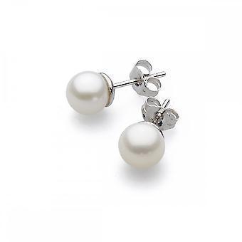 Kit Heath Desire Lustrous Freshwater 3mm Pearl Earrings 30KTFP024