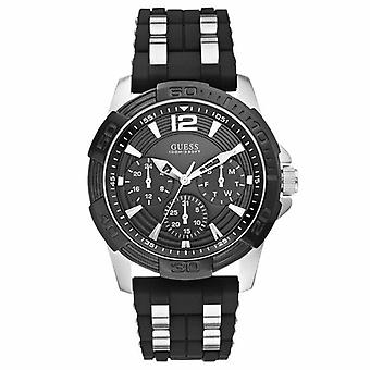 Guess W0366G1 Analogue Quartz with Stainless Steel Strap Men's Watch