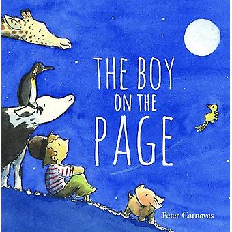The Boy on the Page by Peter Carnavas - 9781912858392 Book