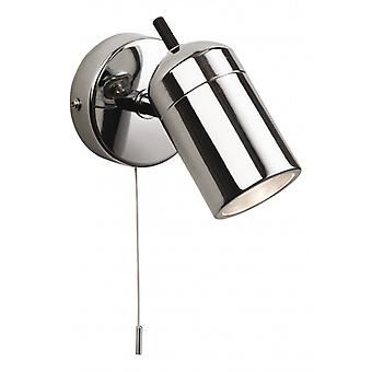 Atlantic Wall Light, Chrome
