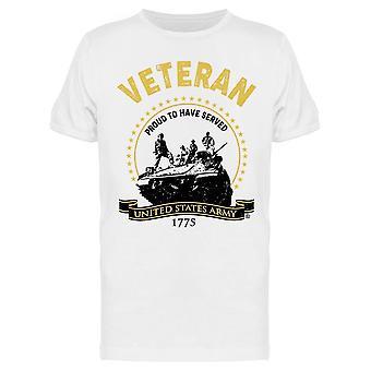 Veteran, Proud To Have Served Men's T-shirt
