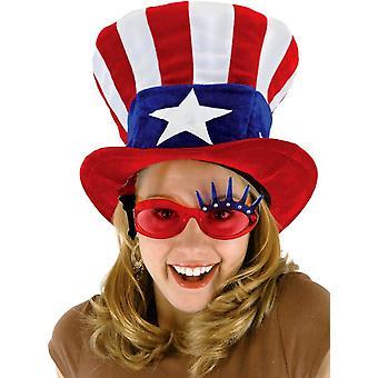 الولايات المتحدة الأمريكية العم سام قبعة للجميع