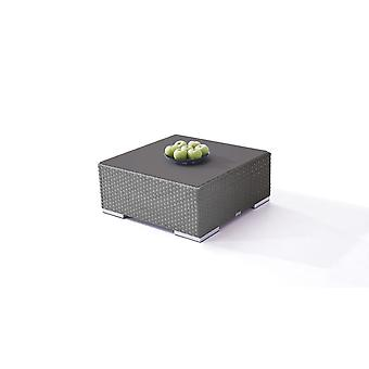 Polyrattan Cube table 75 cm - anthracite