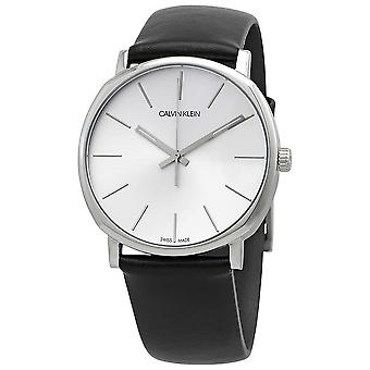 Calvin Klein K8Q311C6 Posh Quartz Silver Dial Men's Watch