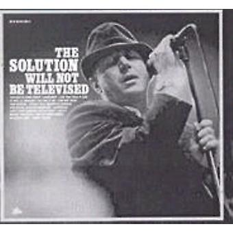 Solution - Solution Will Not Be Televised [CD] USA import