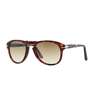 Persol PO0714 24/51 Havana/Crystal Brown Gradient Sunglasses
