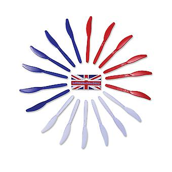 Bristol Novelty Plastic Knives (Pack of 18)