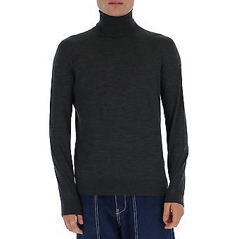 Prada Umr185c5wf0308 Männer's grau Wolle Pullover