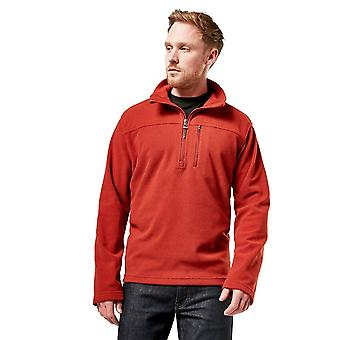 Brasher Men's Half Zip Fleece Rood