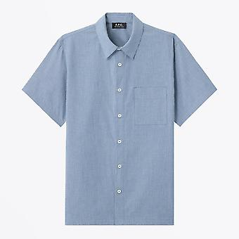 A.P.C.  - Bruce - Short-Sleeve Shirt - Blue