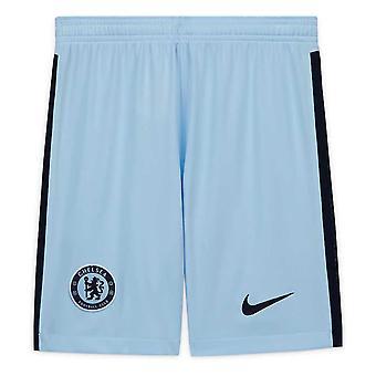2020-2021 Chelsea Away Nike Football Shorts (Kids)