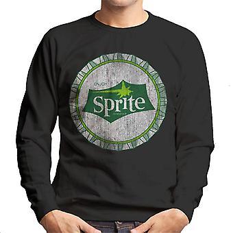 Genießen Sie Sprite 1960er-Jahre White Bottlecap Men es Sweatshirt