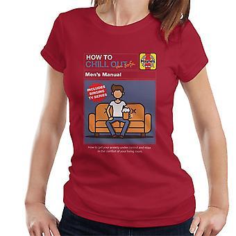 Haynes Hvordan slappe av på sofaen kvinner's T-skjorte