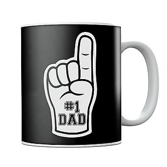 Foam Finger Number 1 Dad Mug