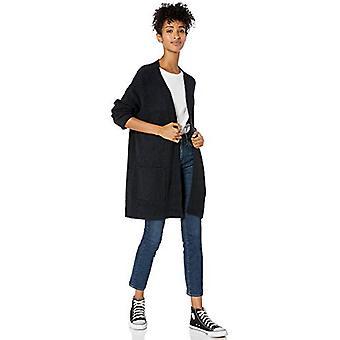 Brand - Goodthreads Women's Boucle Shaker Stitch Cardigan Sweater, Bla...