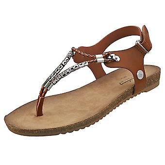 Mustang Strappy Sandals Womens Fashion Sandals in Brown