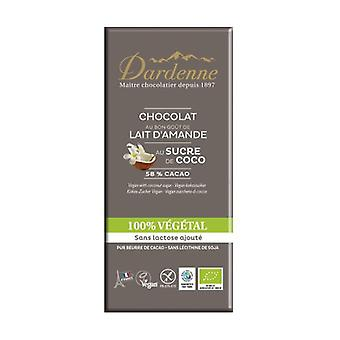 100% Vegetable Chocolate Bar with Coconut Sugar 100 g