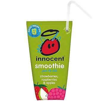 Innocent Kids Strawberry, Raspberry & Apple Smoothies