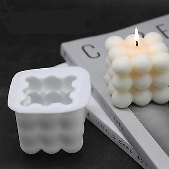 Hand Madediy 3d Silicone Aromatherapy Plaster Candles Mold