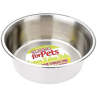 Klassieke Super Value Stainless Steel Dish - 4700ml (290mm diameter)