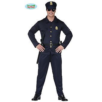Costume poliziotto per uniforme degli uomini della polizia poliziotto carnevale carnevale uomini COP