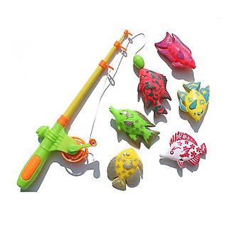 Creative Magnetic Fishing Toy Set For Learning - Magnetic Fish For Little Boys & Girls Education Play Set