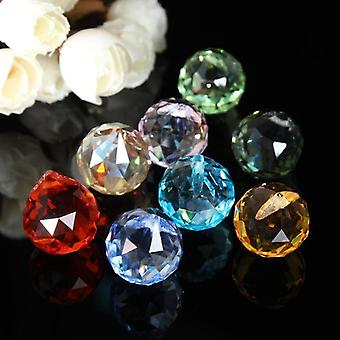 Crystal Chandelier Parts Haning Glass Prisms Rainbow Suncatcher Pendants
