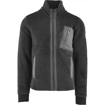 Belstaff Grey Herne Fleece Full Zip Sweatshirt