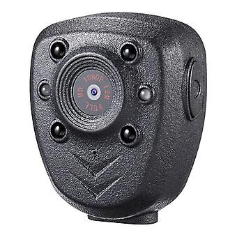 Hd-1080p Police-body-lapel Worn Video Camera, Dvr Ir Night-visible Led-light