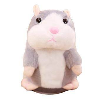 Douyin Celebrity Style, Talking Small Hamster Electric Plush Toy- Will Walk