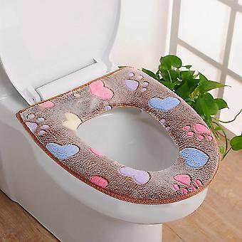 Comfortabele zachte wc-bril, sluittool wasbaar, warmer mat deksel