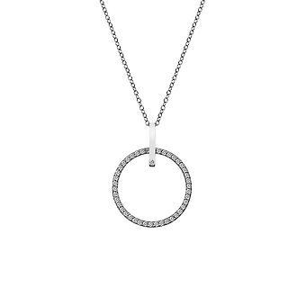 Hot Diamonds Silver 25mm Constant Circle Pendant DP718
