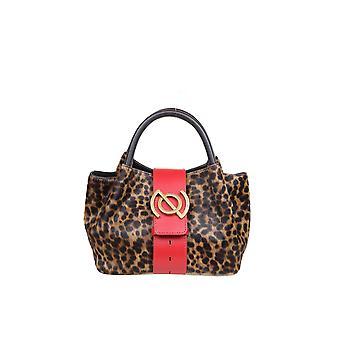 Zanellato 6415cvc3 Dames's Leopard Leather Handtas