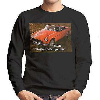 MG The Great British Sports Car British Motor Heritage Men's Sweatshirt