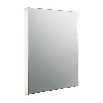 Salle de bains Intégré LED Wall Mirrored Glass & Metallic Silver Effect Paint 1 Light IP44