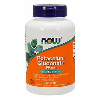 Agora Alimentos Potássio Gluconato 99 mgs, 250 Abas